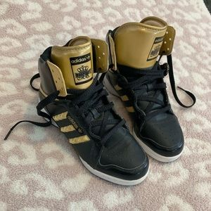 "Adidas LtD edition ""Respect Me"" Black and Gold"